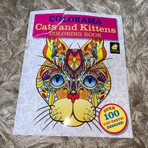 ‼️5/25$‼️Cat Kittens Adult Therapy Book